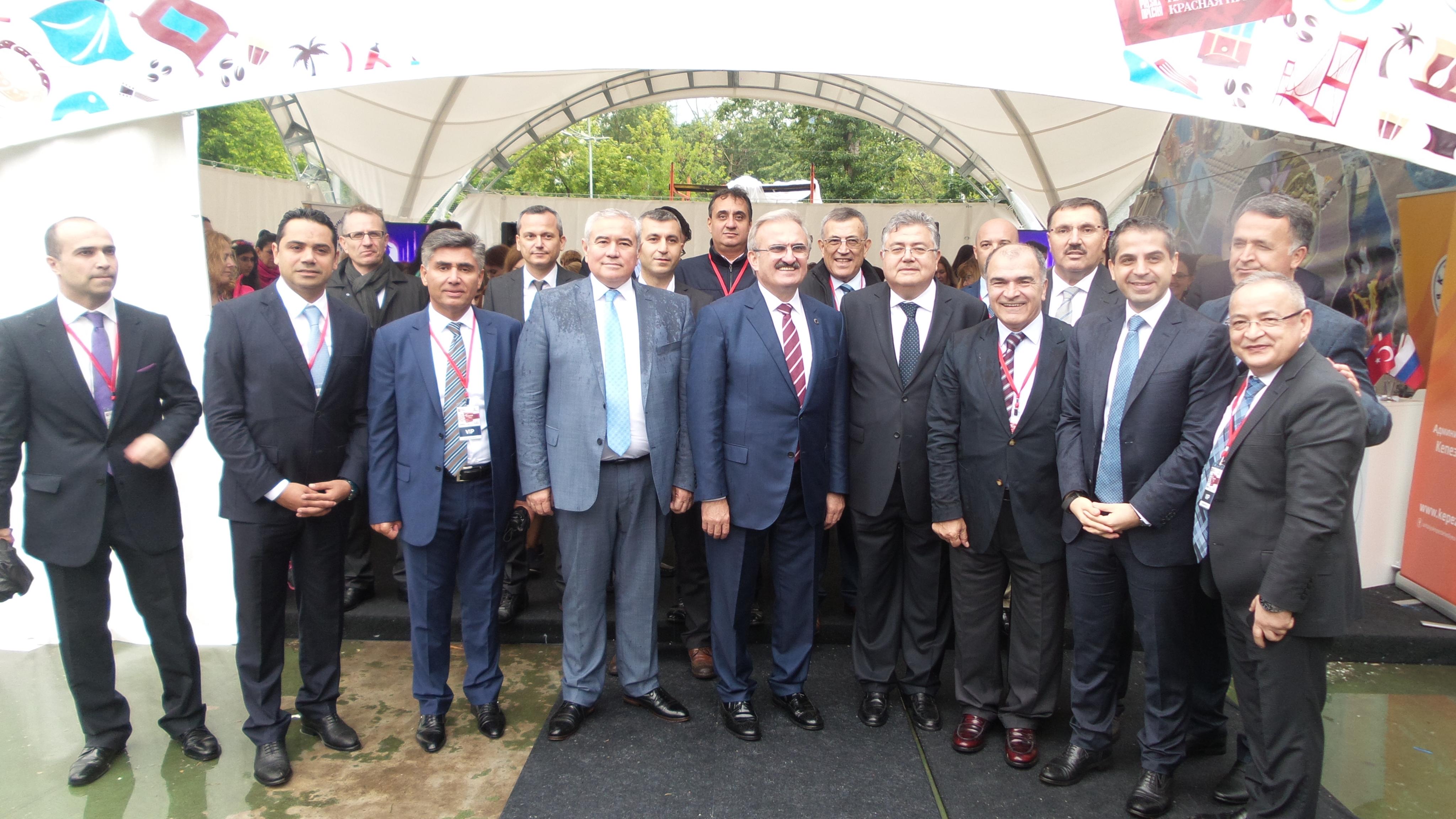 Türkiye Festivali RUusyanın Başkenti Moskova'da başladı