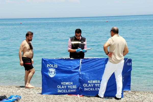 Kemer de Denize giren Ukraynalı turist öldü