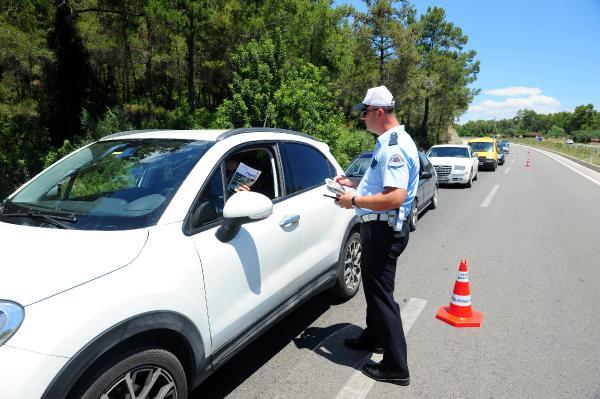 Kemer Polisinden sürücülere bayram uyarısı