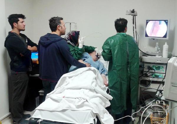Devlet hastanesine yeni cihazlar