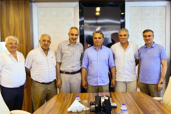 Başkan Uysal, dernek başkanlarını kabul etti