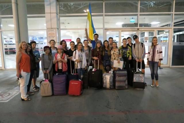 Ukraynalı Şehit Çocukları Kemer'de Tatilde