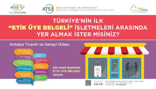 Türkiye'nin ilk 'etik üye' belgeli işletmeleri