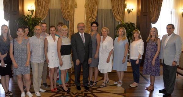 Antalya'ya 750 bin Ukraynalı turist bekleniyor