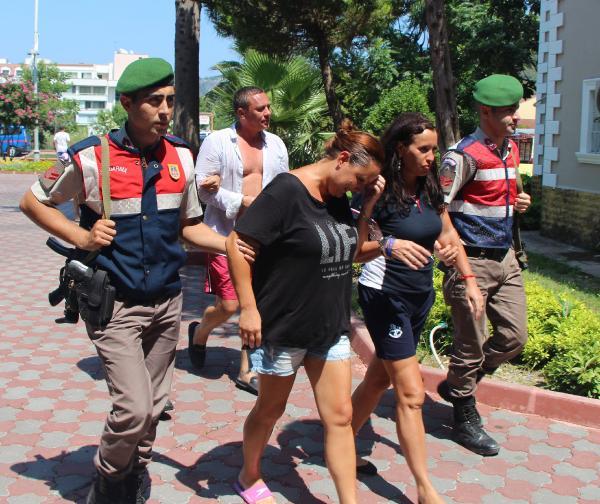 3 Rus, kaçak girdikleri otelde yakalandı