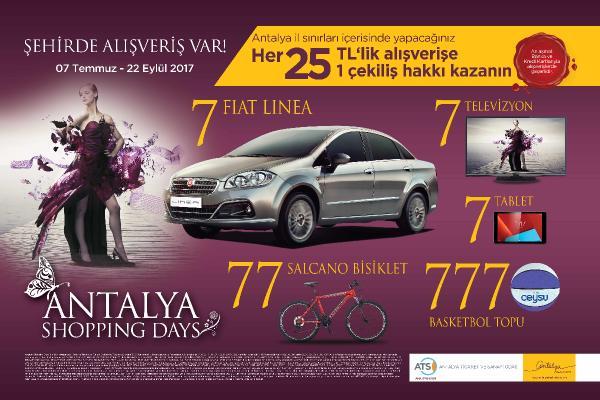 Antalya ShoppingDays'a kadın eli değiyor