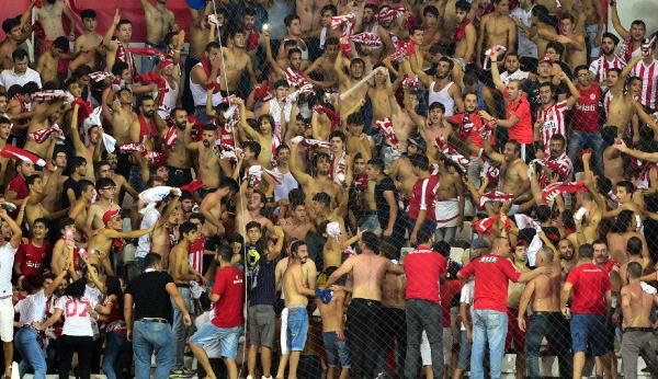 Antalyaspor'da kombine sevinci