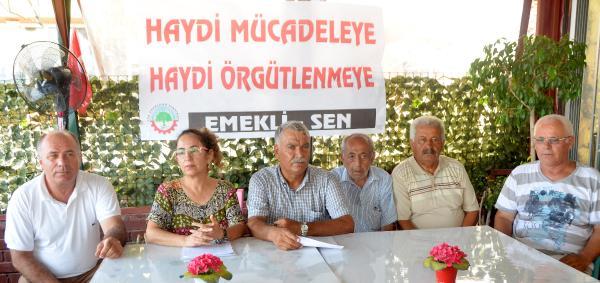 Antalya'da emeklilere örgütlenme çağrısı