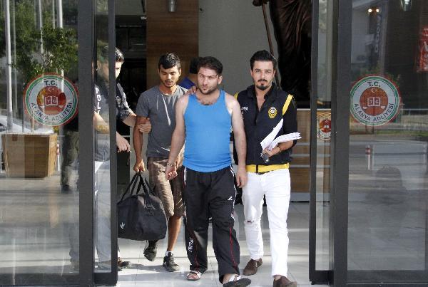 Aranan şüpheliler tutuklandı