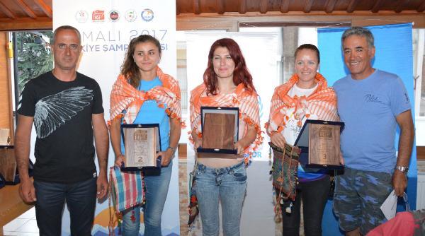 Yamaç Paraşütü Şampiyonası tamamlandı
