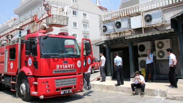 5 Yıldızlı Otel Yangın