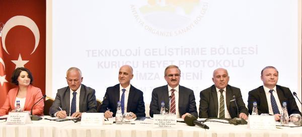 Antalya OSB, TGB başvurusunu yaptı