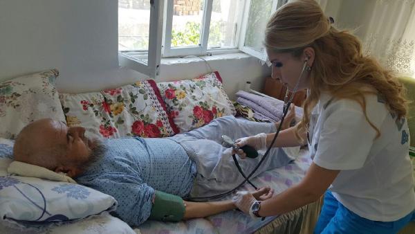 264 hastaya evde sağlık hizmeti