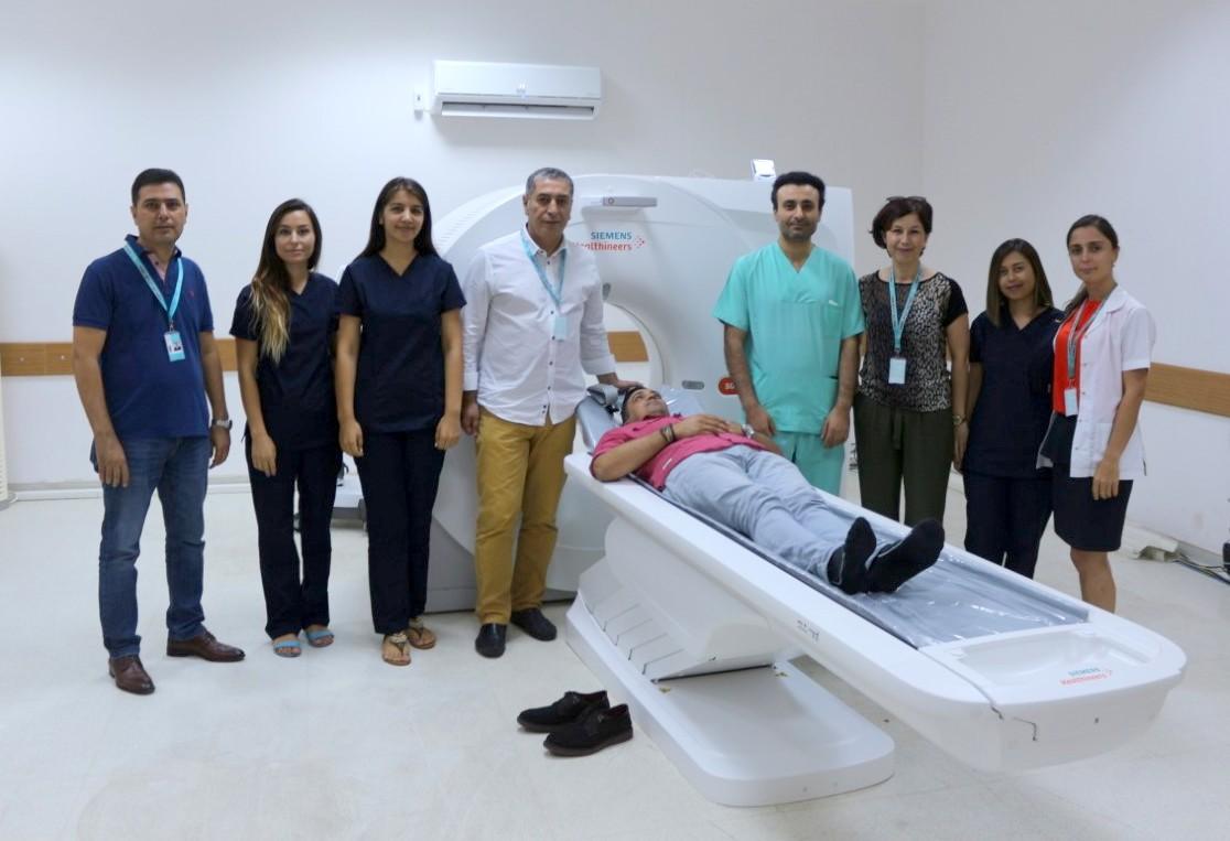 Kemer Devlet Hastanesi'ne İleri Teknoloji Tomografi Cihazı