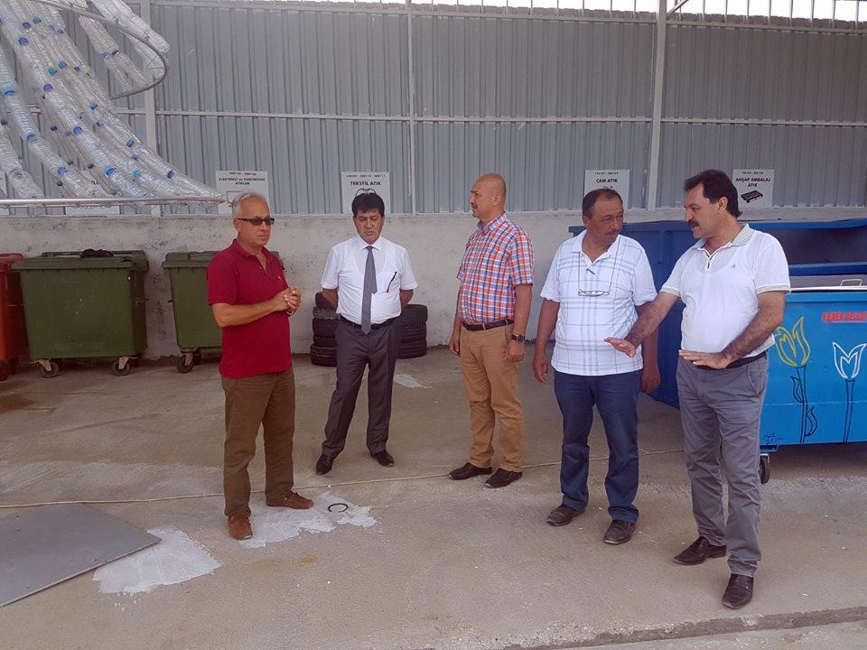 Kemer Belediyesi Atık Getirme Merkezi kuruyor