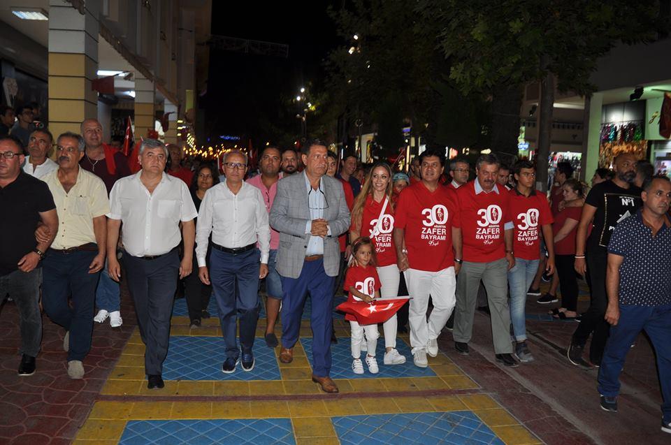 Kemer Belediyesi'nin vizyon projelerinden biri olan Çamyuva 30 Ağustos Zafer Parkı'nın açılışı Zafer Bayramı'nda yapıldı.