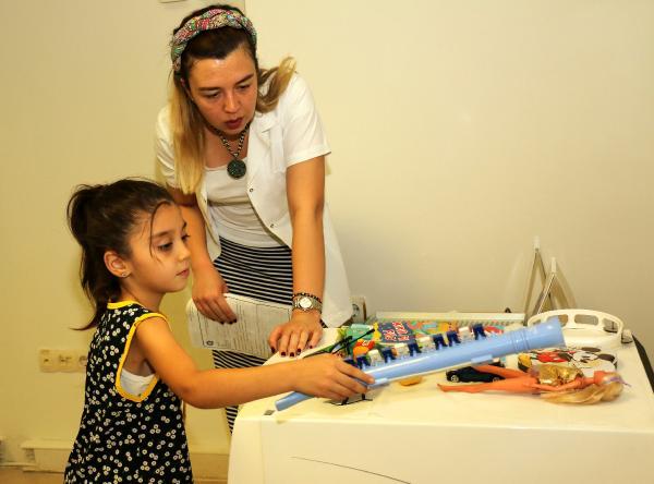 Çocuklara diş sağlığı hizmeti
