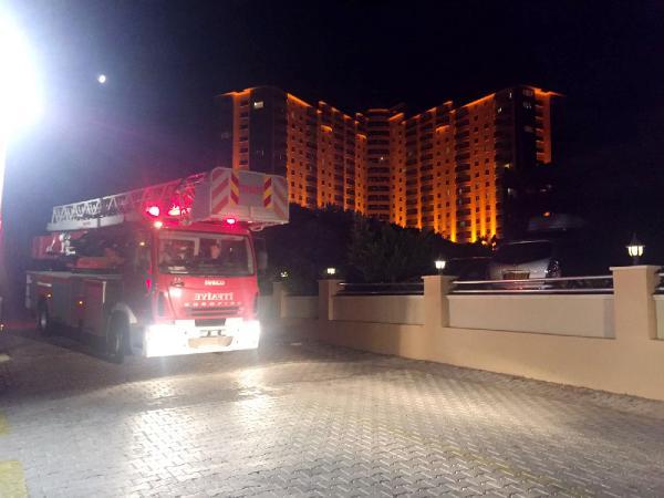 Beş yıldızlı otelde kavga çıktı, oda ateşe verildi