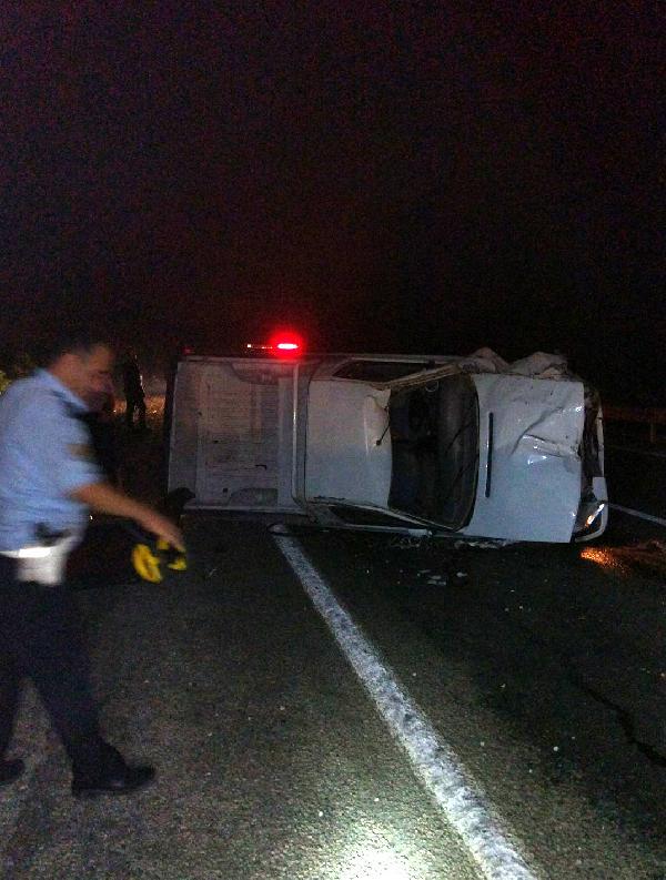 Kemer'de kaza: 1 yaralı
