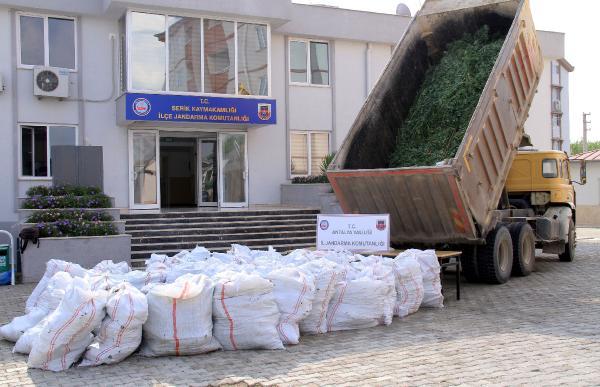 Antalya'da 16 milyon liralık uyuşturucu ele geçirildi