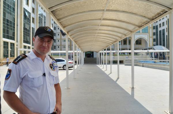 Antalya Adliyesi'ne özel güvenlik