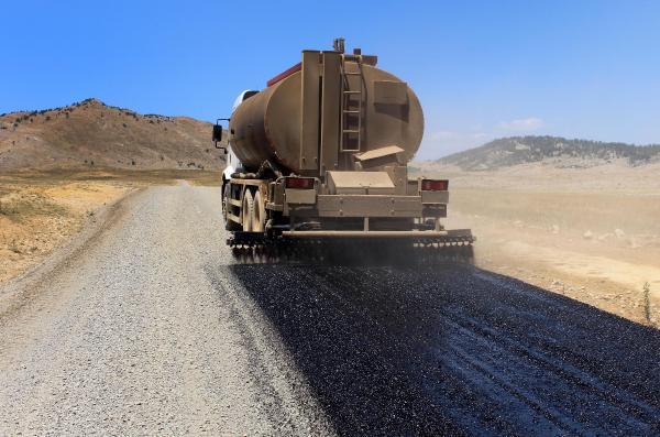 Yayla yolları asfaltlanıyor