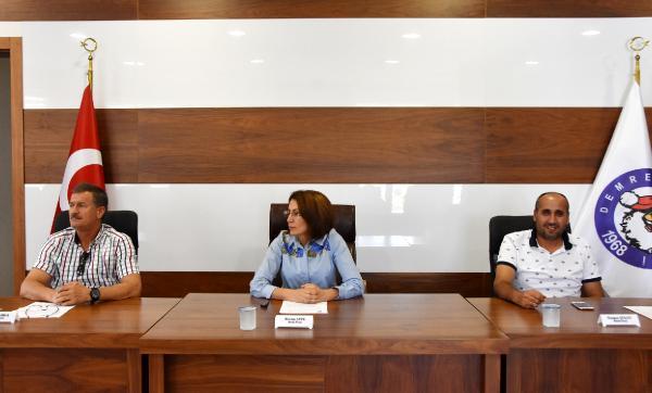 Demre Belediyesi'nde eylül meclisi