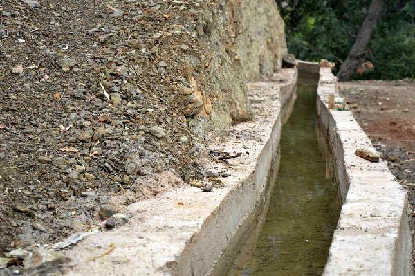 Köprülü'ye sulama kanalı