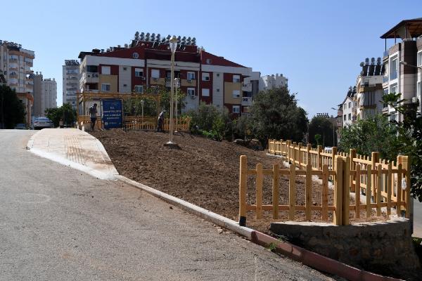 Pınarbaşı Mahallesine modern park