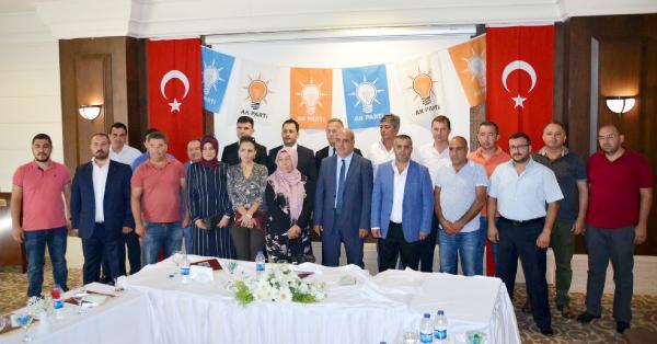 Ak Parti Kemer'de yönetim açıklandı
