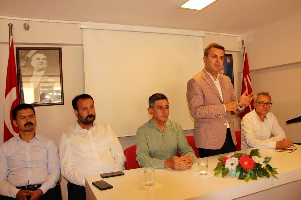 CHP'li Kök'ten Kumluca ziyareti