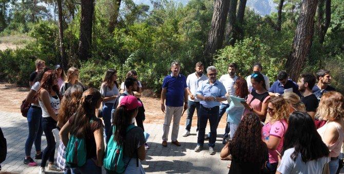 Kemer Belediyesi ile Akdeniz Üniversitesi'nden örnek işbirliği