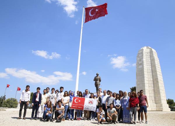 DÖGEM üyeleri Çanakkale'ye gitti