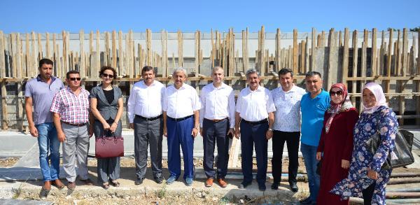 Kumluca'ya SGK hizmet binası yapılıyor