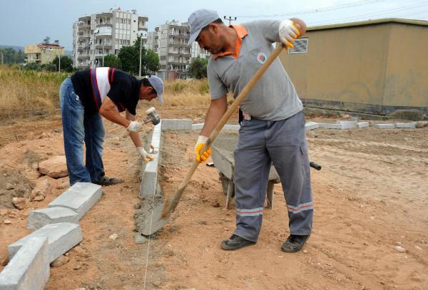 Varsak Şelale'ye yeni park