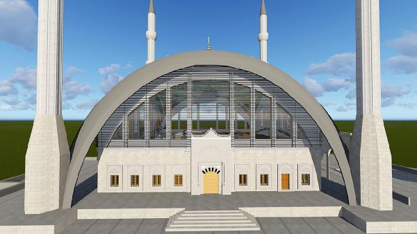 Türkiye'nin ilk müze konseptli camisi Döşemealtı'nda