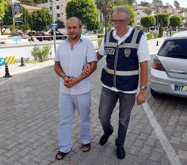 Cezaevi firarisi Manavgat'ta yakalandı