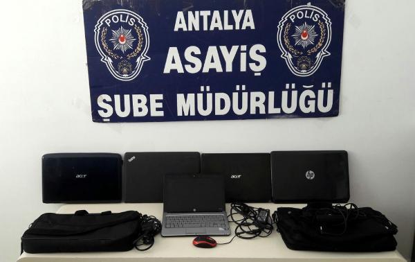Çaldığı ürünleri internette pazarlayan hırsız yakalandı
