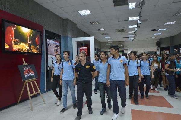 Ankara İtfaiyesinden fotoğraf sergisi