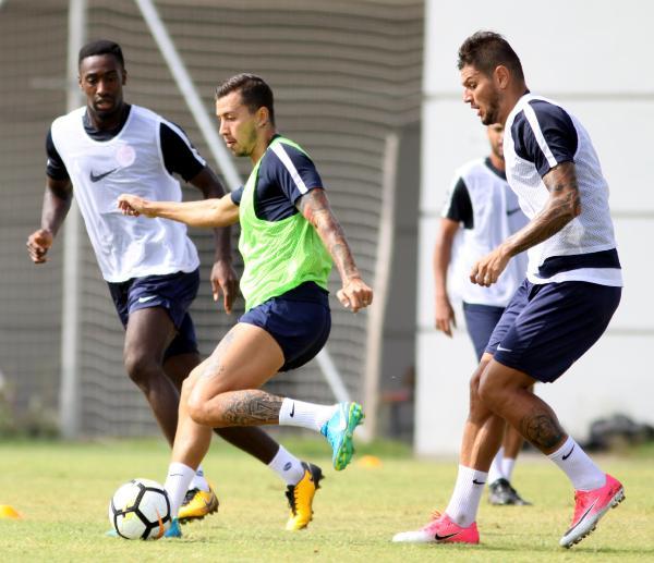 Antalyaspor, Osmanlıspor hazırlıklarını sürdürdü