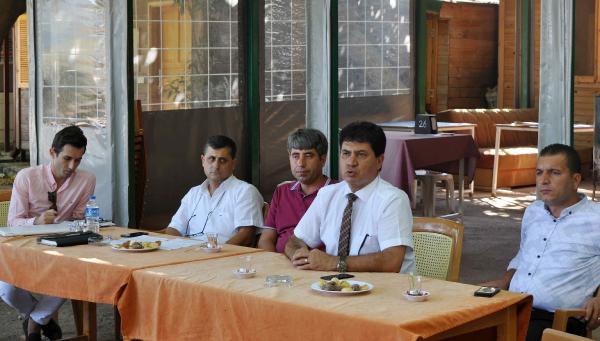 Başkan Gül'den bilgilendirme toplantısı
