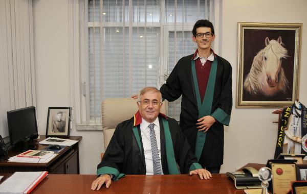Avukat Gököz'ün 250'nci stajyer gururu