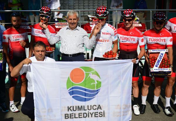 Cumhurbaşkanlığı Bisiklet Turu 'Kumluca-Fethiye' etabı başladı