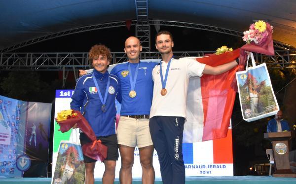 Kaş'ta dalış şampiyonası sona erdi
