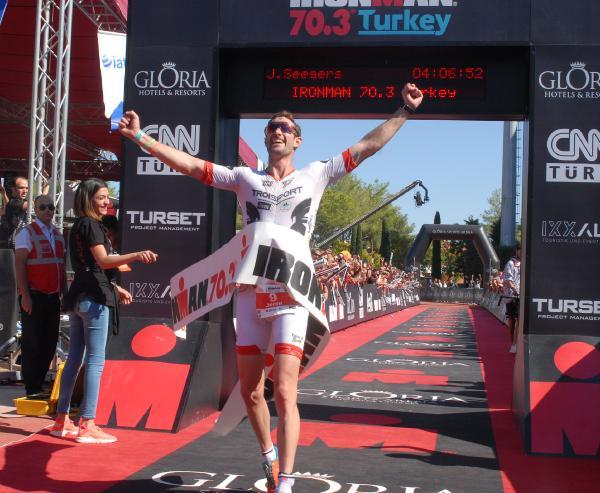 Ironman 70.3 Turkey 2017 yarışları tamamlandı