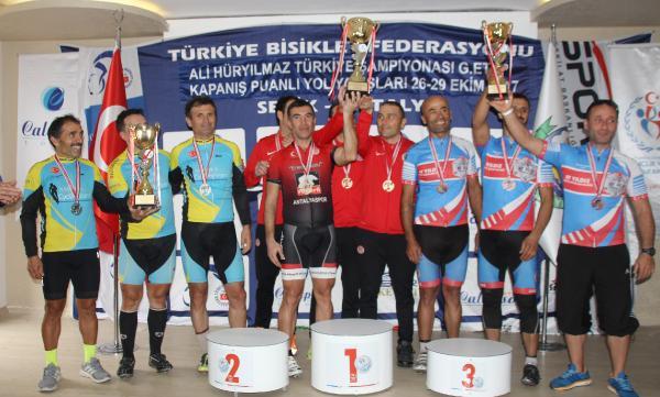 Türkiye Şampiyonası 6'ncı Ayak Puanlı Yol Yarışları sona erdi