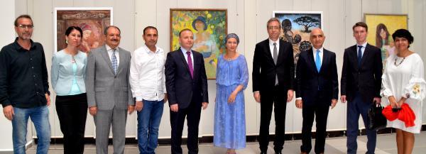 Sanatta Antalya-Rusya işbirliği