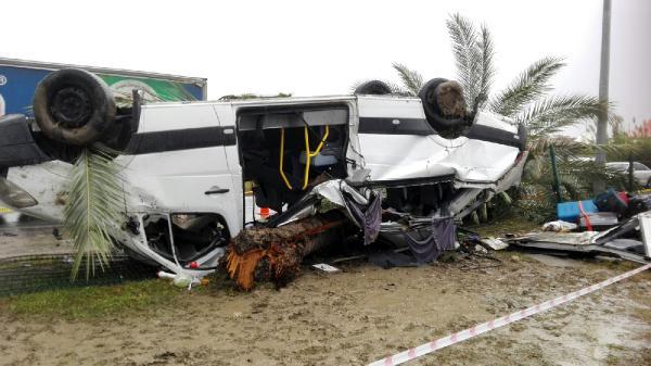 3 turistin öldüğü kazada tur minibüsü şoförü tutuklandı