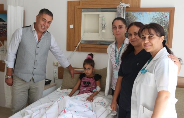 Başhekimden hastalara ziyaret