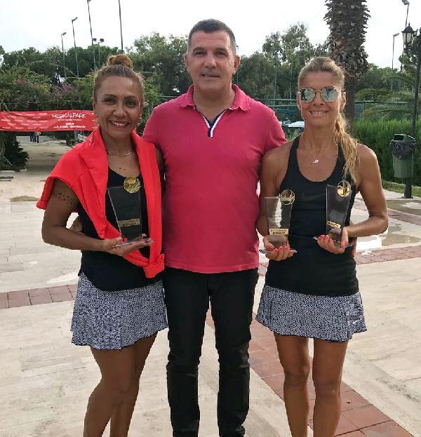 Altın Portakal teniste ödüller sahibini buldu